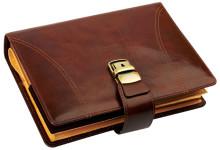 Папки и портфели натуральная кожа, с тиснением и без