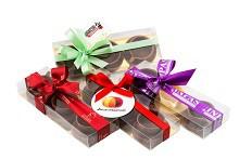 брендированные шоколадные наборы Наборы из шоколада ручной работы с возможностью брендинга